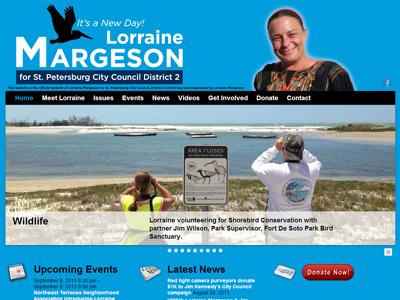 VoteLorraineMargeson.com